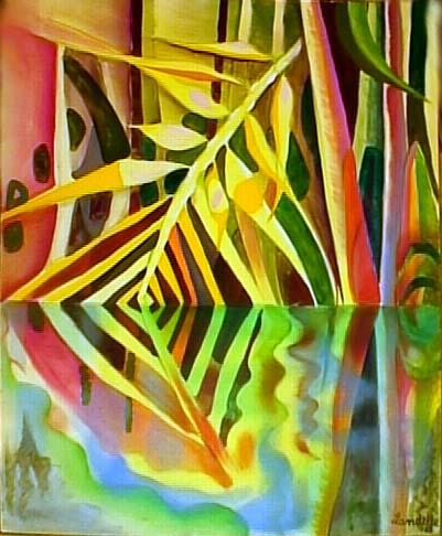 Peintures de Bernard Landelle